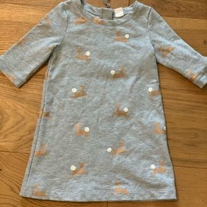 Holiday Baby Gap Dress- size 3